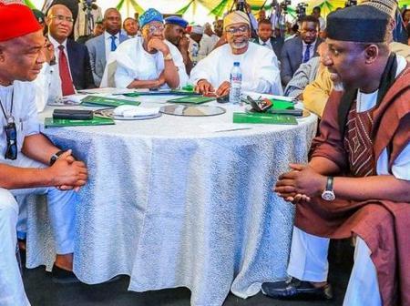 Have Senators Rochas Okorocha and Ifeanyi Araraume become Hope Uzodinma's political undoing