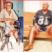 Meet The Former Nigerian Footballer Who Has Been Crippled And Bedridden For Over 18 Years (Photos)