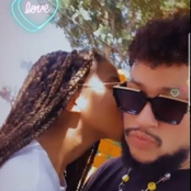 New picture of AKA's new girlfriend that will leave you speechless!!