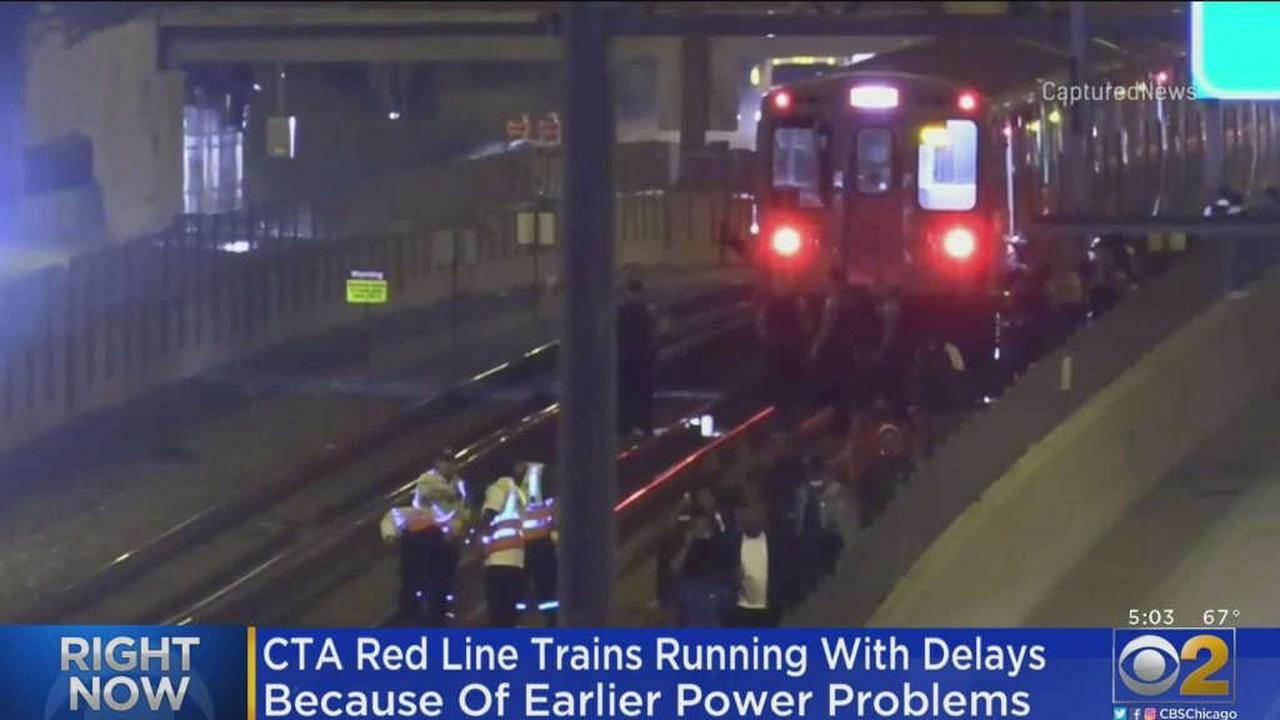 CTA Red Line Trains Running With Delays After Early Morning Power Outage