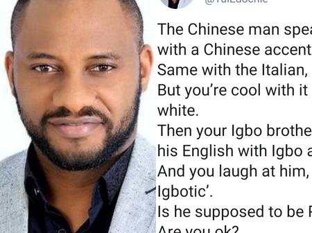 Yul Edochie Tackles Those That Always Criticize Their Fellow Igbos For Not Being Fluent In English