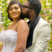 Check Out Lovely Wedding Photos Of Jerry Williams And Richel On Movie Set