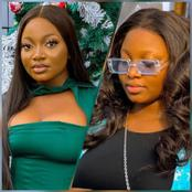 Fast-rising Nigerian slay model flaunts her long nails in new photos