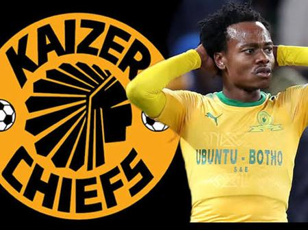 Good news: Percy Tau chooses Kaizer Chiefs over Mamelodi Sundowns.