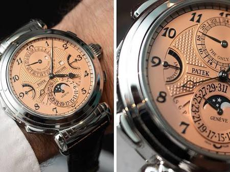 Check out the most expensive watch in the world that costs N11 billion [Photos]