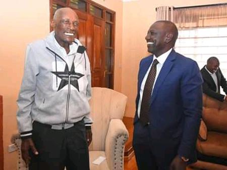 Dp Ruto Visits Mzee Kibor Causing A stir Online