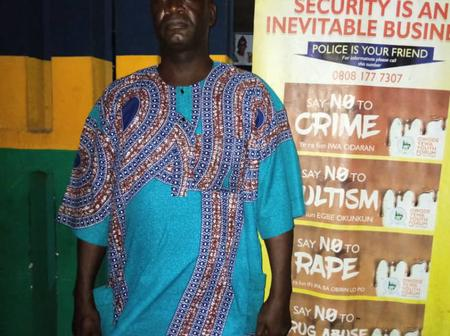 44-Year Old Pastor Who Impregnated Own Daughter Thrice Arrested By Police