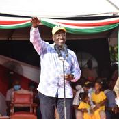 Good News for William Ruto as His Close Diehard Reveals the Following