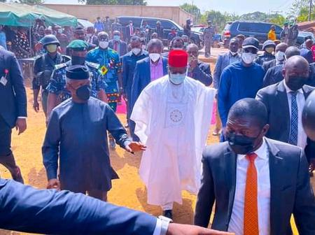 Vice President Visits Egedegede Community In Ebonyi State