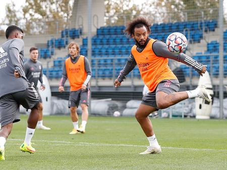 Photos: Real Madrid spotted training ahead of Champions League clash a day after winning El Clasico