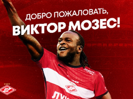 Chelsea Confirmed Victor Has Been Loaned Out To Joined Spartak Moscow
