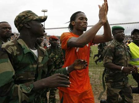 How Drogba Ended a 5 year Civil War in his Country, Cote d'Ivoire.