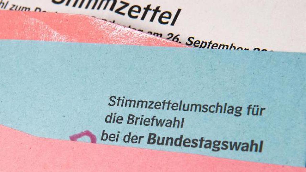 Rund 1,7 Millionen können sich an Bundestagswahl beteiligen