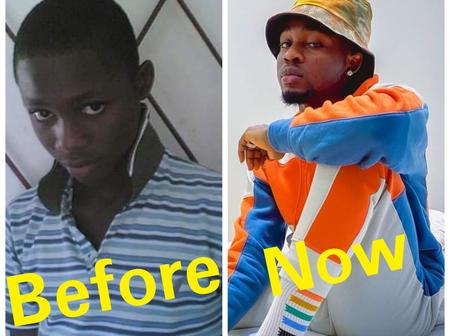 See How Omah Lay Has Transformed Over The Years