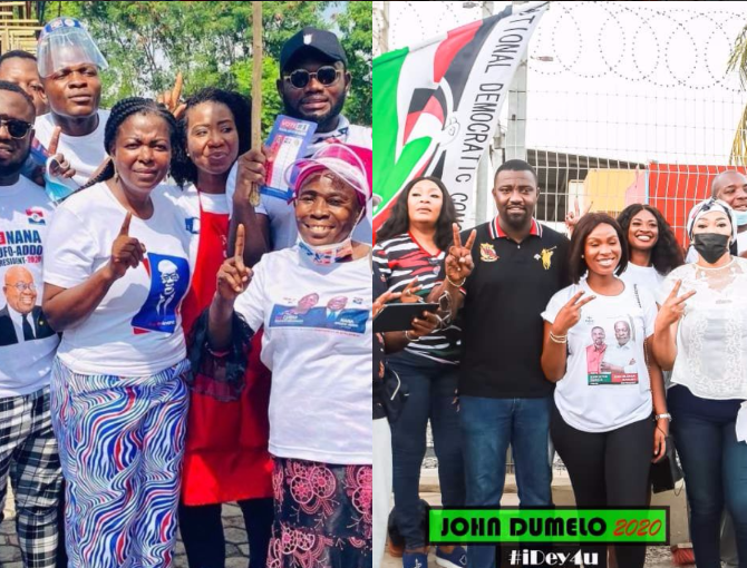 16876614d217d7c0c8a9390583464d1b?quality=uhq&resize=720 - John Dumelo And Hon Lydia Alhassan Celebrities Campaign Team, Who Is More Influential? (Photos)