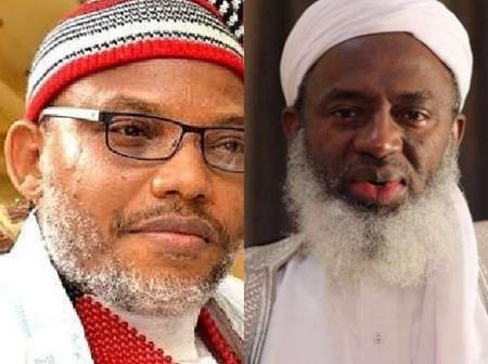Nnamdi Kanu Shares Old Newspaper where Sheikh Gumi Allegedly called Boko Haram a blessing to Nigeria