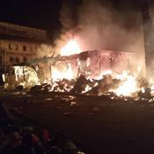 Fire outbreak wreaks havoc in Onitsha plastic market