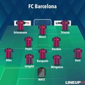 Opinion: How Barcelona Could Line Up Against Osasuna To Win