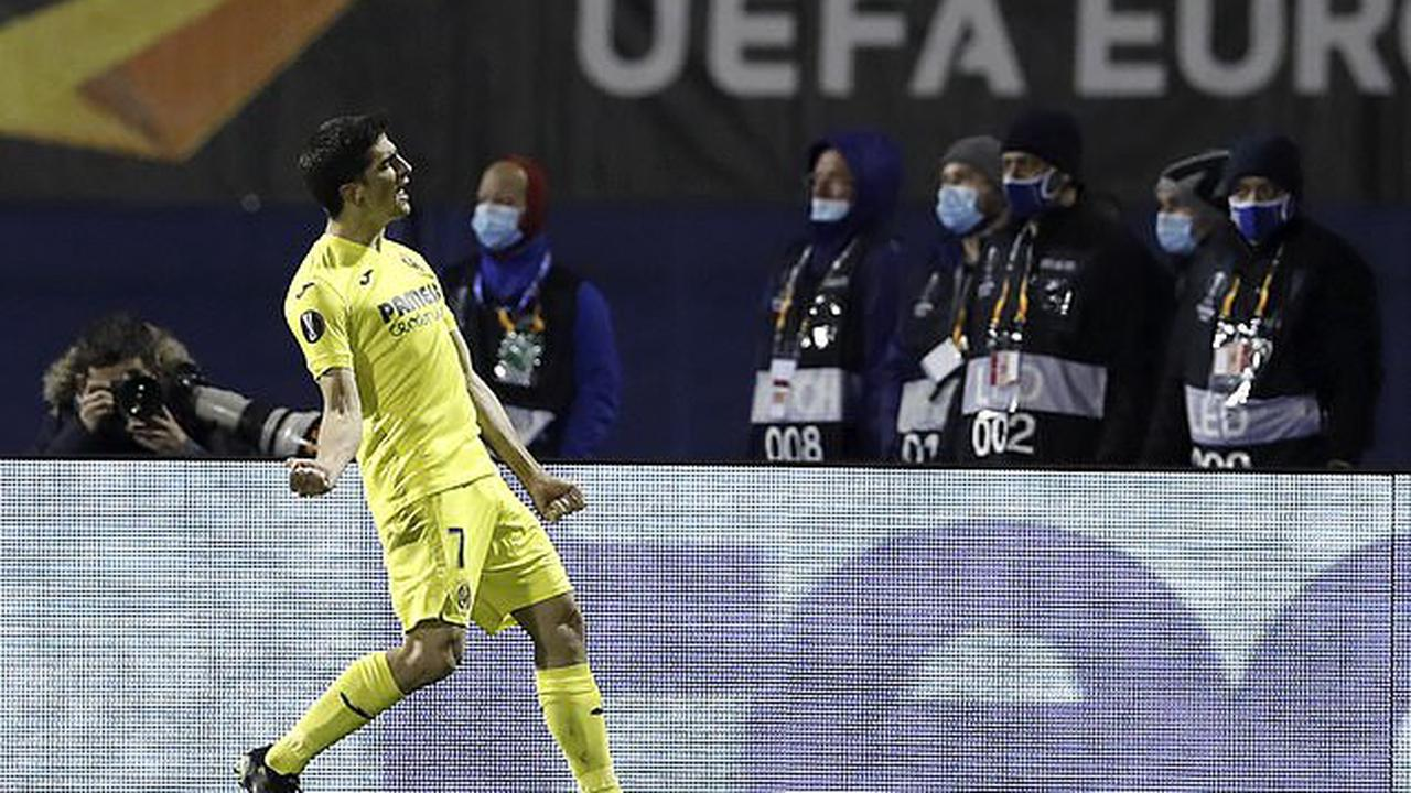 Dinamo Zagreb 0-1 Villarreal: Gerard Moreno nets crucial away goal from the penalty spot to put Unai Emery's side in control of Europa League quarter-final tie