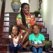 Cynthia Tima Yeboah: Moments Mother And Children Shared Great Bond Between Each Other