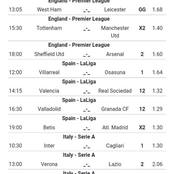 Eight(8) Sure Sunday Tips To Bank on For a Mega Return With GG and Over 3.5