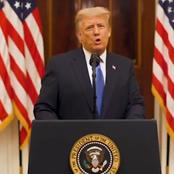 As Trump Prepares To Handover Power To Joe Biden, See What He Said In His Farewell Speech