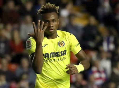 Samuel Chukwueze shines as Villarreal defeated Alaves 3-1 to move to La Liga 3rd spot