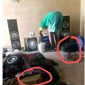 A guy posted his R9000 sound system he had just bought but people noticed this!