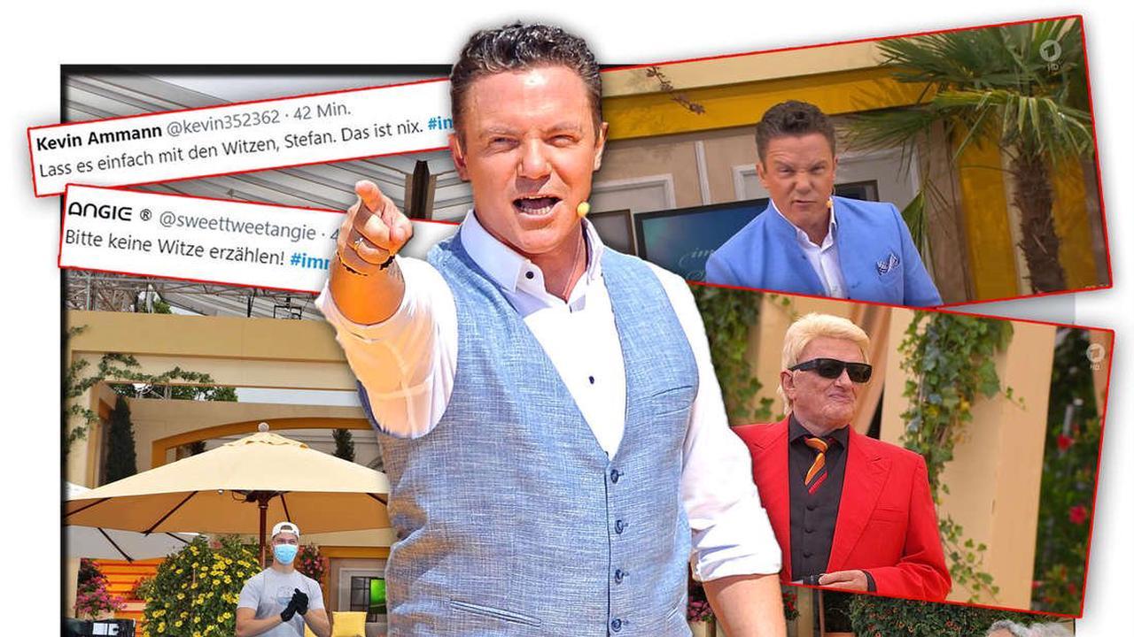 Immer wieder sonntags: Stefan Mross erzählt vor Heinos Auftritt unlustigen Senioren-Witz - Fans sauer