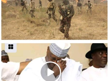 Hours After Boko Haram Slaughtered 43Farmers, See What Nigerian Soldiers, Aisha Yesufu And Atiku Did