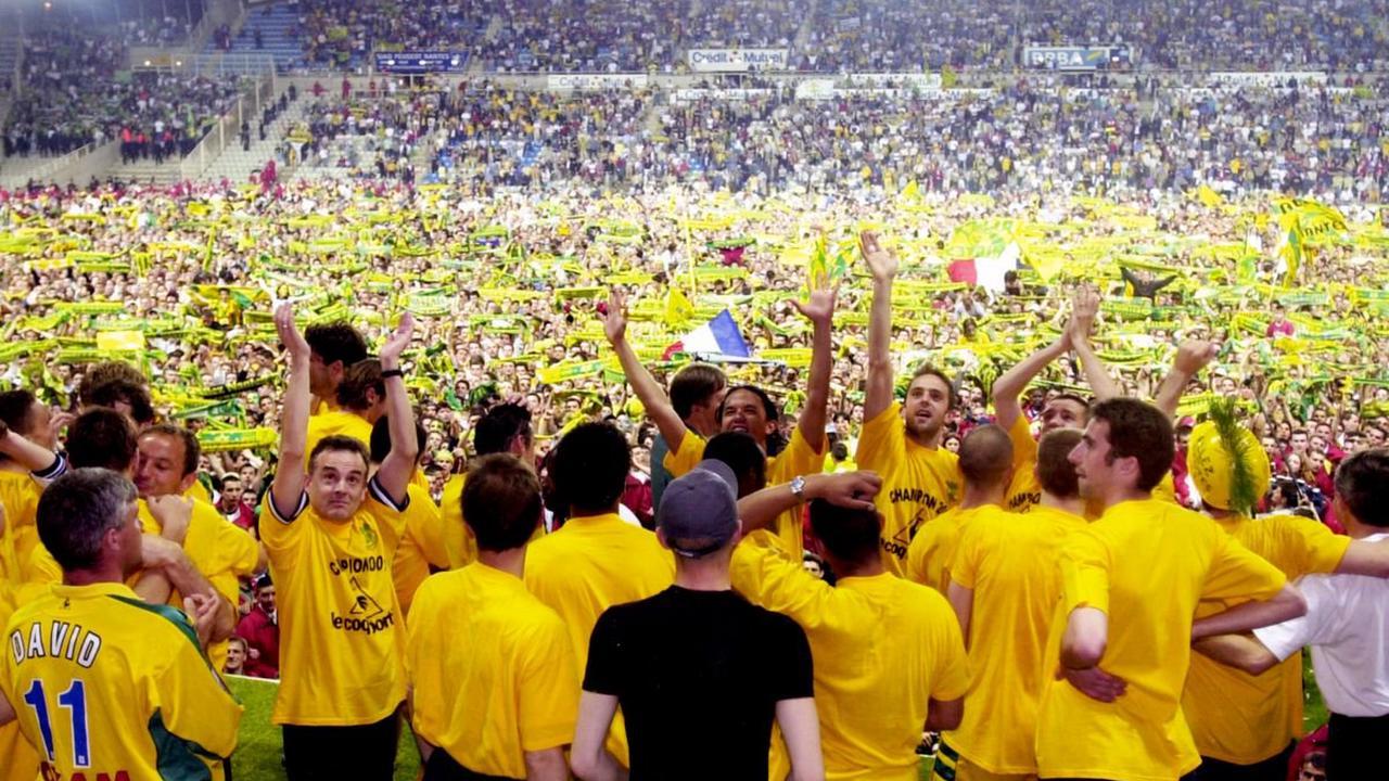 VIDÉO - Il y a 20 ans, le FC Nantes remportait son 8ème titre de champion de France