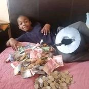 Meet the young boy who started saving at the age of six and see how much he has at eleven