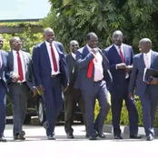 Ruto, Oparanya Hold Midnight Meeting In Eldoret Again