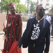 Drama As Sowore Appear In Courts With A Man In This Attire