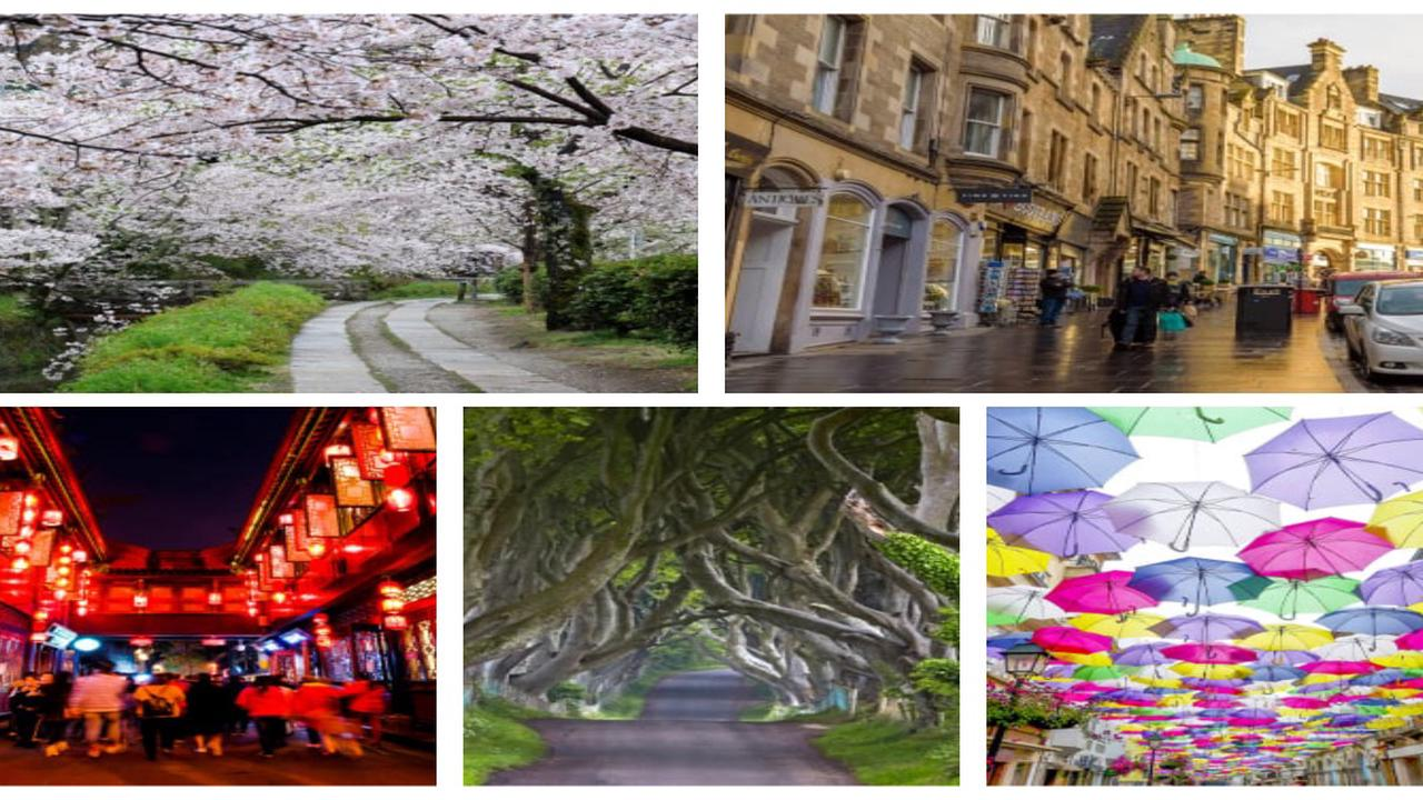 List Of The Ten Most Beautiful Streets From Around The World
