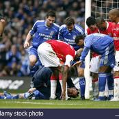 John Terry Could Have Died In 2007 Against Arsenal, See How Arsenal Medical Staff Saved His Life