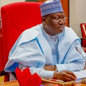 Senate President Lawan Breaks Silence, Reveals Those That Are Funding Bandits And Boko Haram