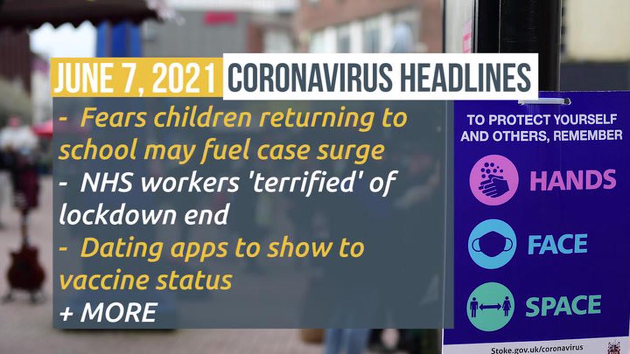 Coronavirus – Monday's figures