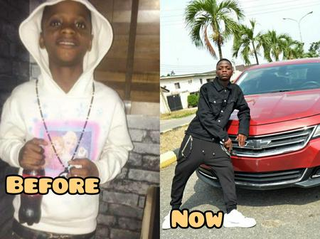 4 Years After Davido 'IF Cover', See Destiny Boy's Pictures