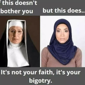 If The Picture On The Left Doesn't Bother You But The One On The Right Does, It is Your Bigotry -Man