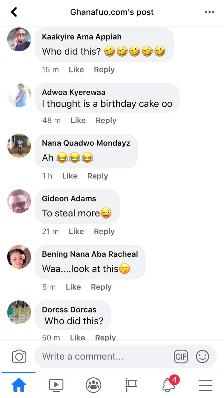 """171e85e52cb23958e42a891b884b51ad?quality=uhq&resize=720 - """"Who Did This?"""" - Ghanaians React To A Bizarre Sculpture Of Nana Addo"""
