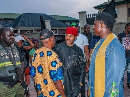 Anambra 2021: Father Ebube Visits US-Based Doctor, Maduka
