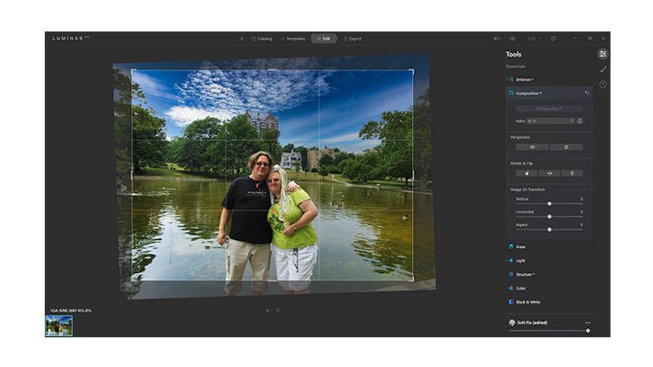 Luminar AI, hands on: Quick and easy AI-powered photo editing Review