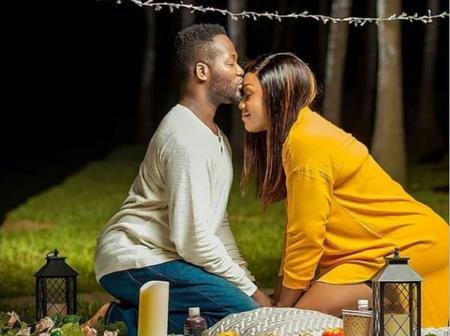 Epic wedding anniversary photo of Adjetey Anang stirs up emotions of Selly Galley