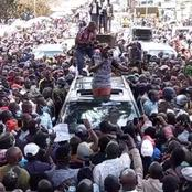 Business Comes To A Standstill In Kitale Town As DP Ruto's Calls BodaBoda Chair To address Residents