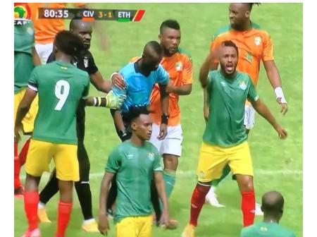 Côte d'Ivoire contre Ethiopie : L 'Arbitre Ghanéen du match se porte bien