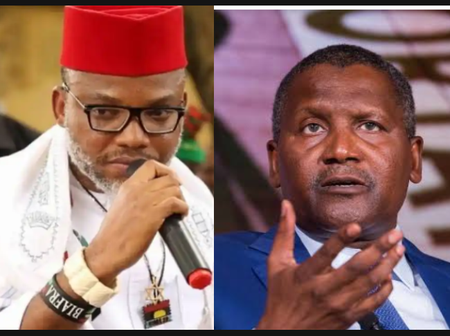Check Out Why Nnamdi Kanu Accused Dangote Of being Nigeria's Biggest Problem