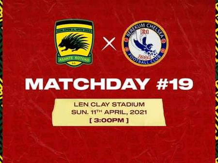 Asante Kotoko poised to wrestle another three points in the GPL at Obuasi this afternoon