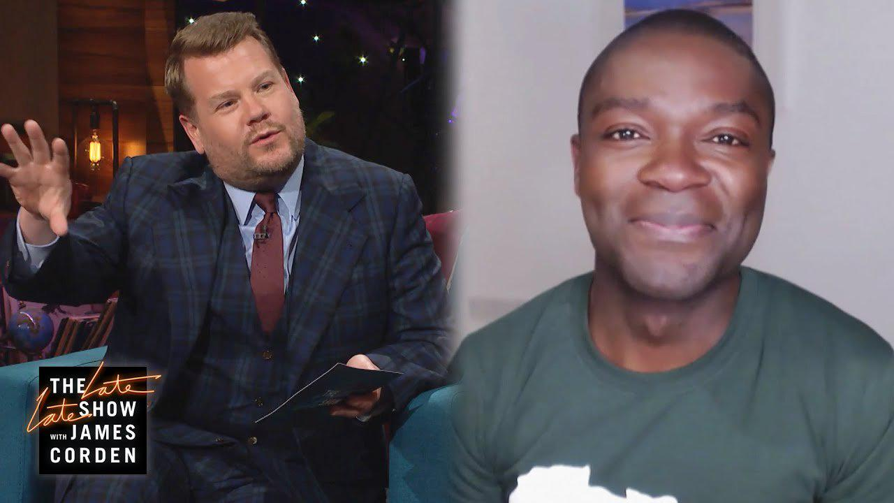 James Corden celebrates losing a stone and a half as he shares how he did it