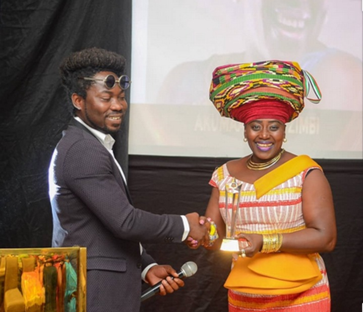 1779ac099f05055a5aafe7fa7dc61706?quality=uhq&resize=720 - God of wonders: How Mama Zimbie moved from receiving Black & White TV award to an International awards (Photos)